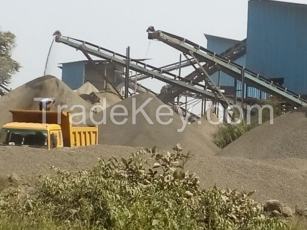 Construction Aggregates -10 to 40 mm VSI