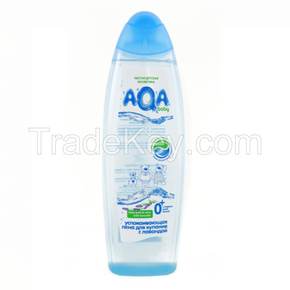 AQA baby Bath foam, shampoo 2in1, cream gel