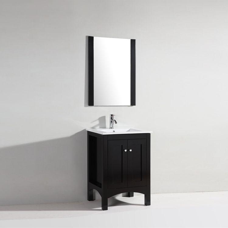 cheap solid wooden bathroom vanity wooden cabinet
