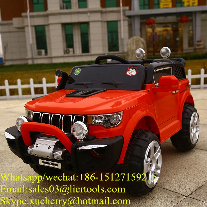 Four Wheels Remote Control Kids Electric Car