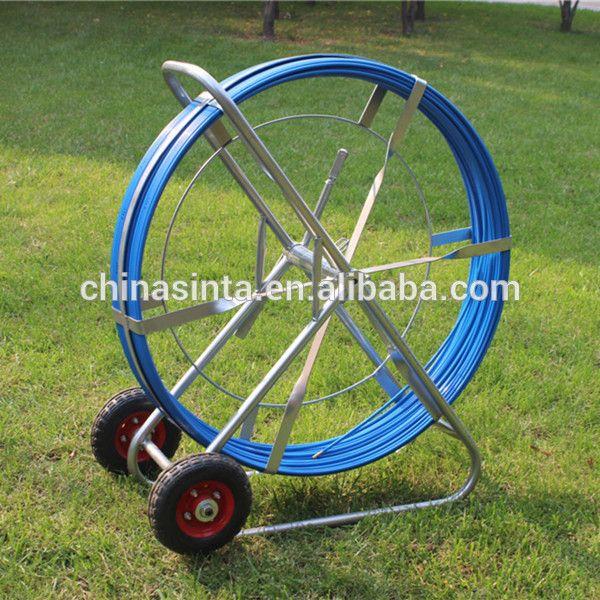 Fiberglass Snake Duct Rodder With Wheels