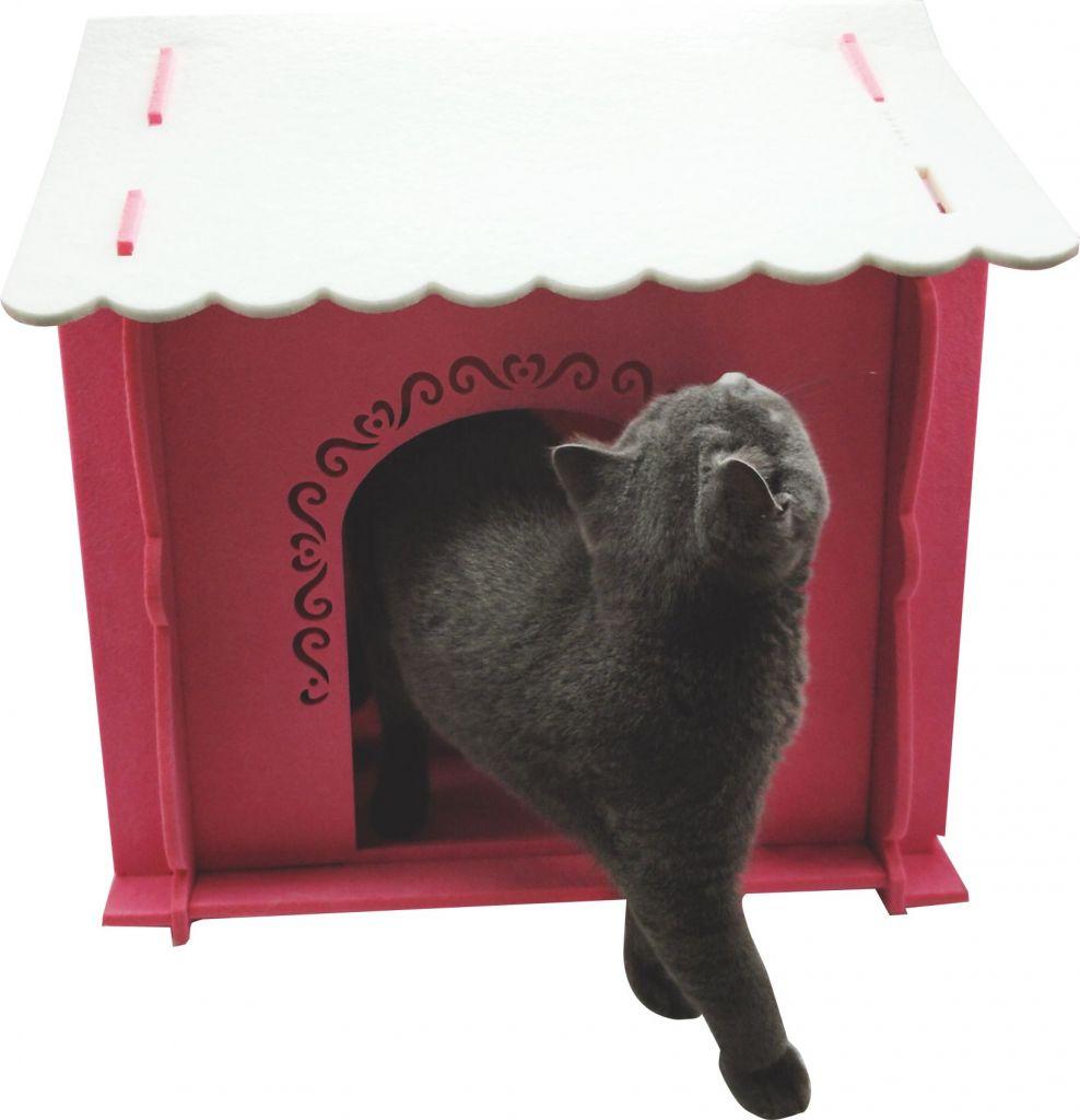 New Arrival-Felt pet nest, Pumpkin cat cave dog house