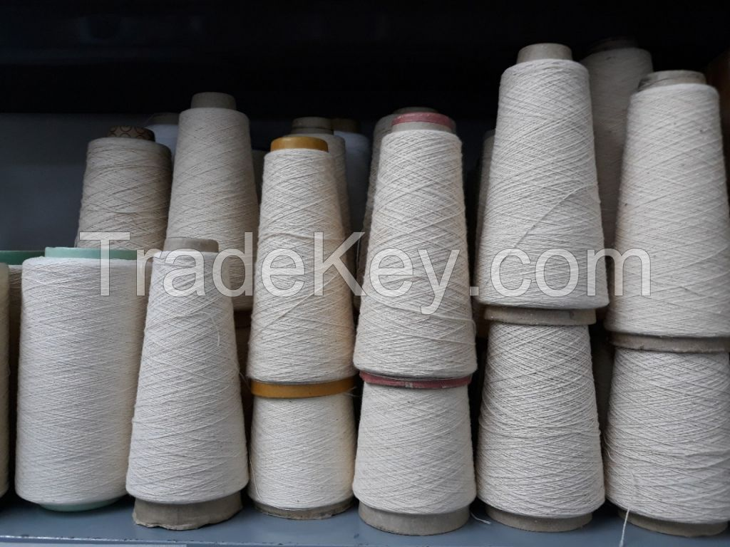 100% polyester open end yarn