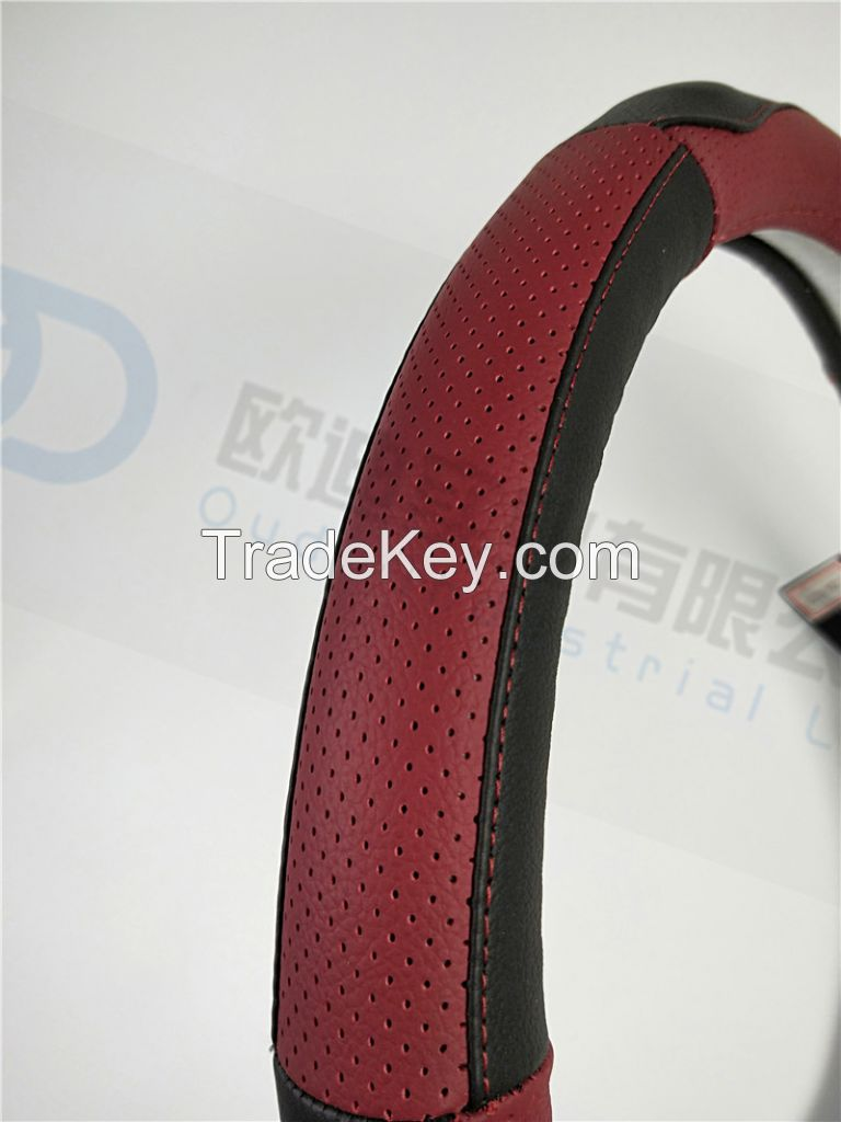 2019 NEW Model Car Genuine Leather Steering Wheel Cover Non Slip