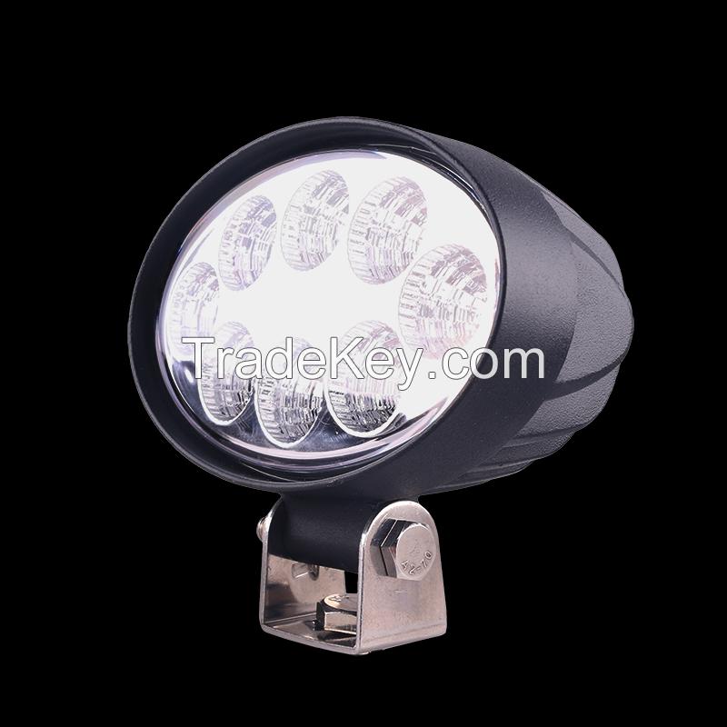 24W LED WORK LIGHT OVAL SHAPE