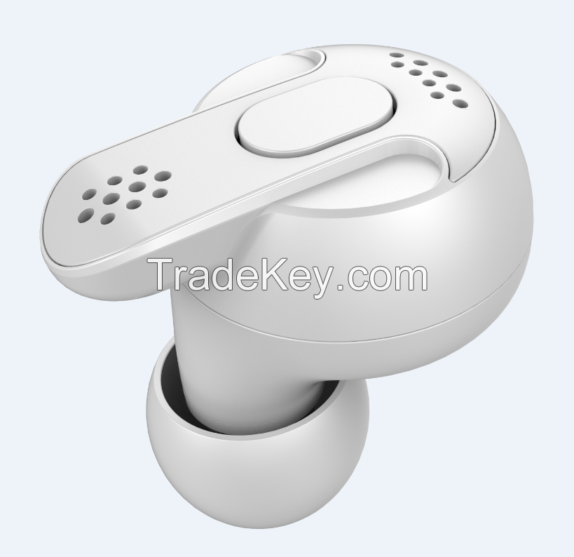 Dual Ear True Wireless TWS Earbuds with Charging Pod Private Mould