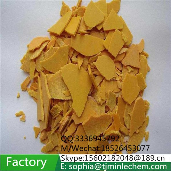 sodium sulfide flakes used for water treatment and papermaking
