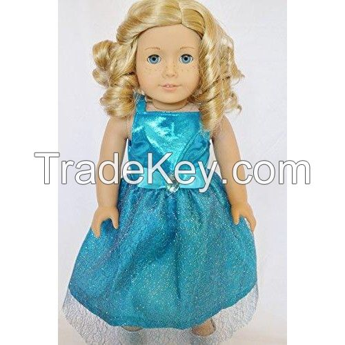 New Years Celebration Dress For American Girl Dolls-18 Inch Doll Clothes