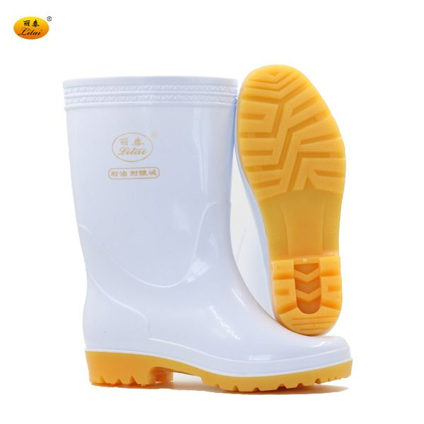 Durable Light Waterproof PVC Safety Rain Boots