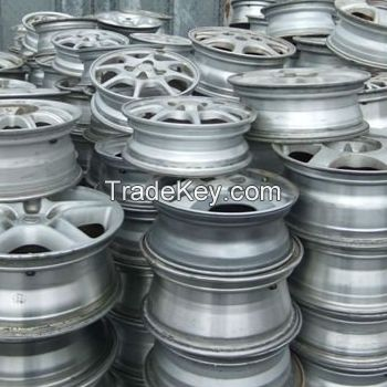 99.99% Aluminum Scrap 6063 / Alloy Wheels scrap/ Wire scrap for sale