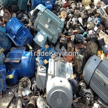 Mixed Used Electric Motors Scrap