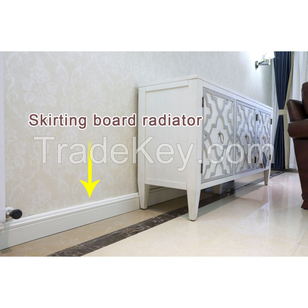 Chrome Hot Water Central Household Heating Radiator