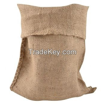 Thai Fragrant rice packaging jute drawstring bag for tea packing