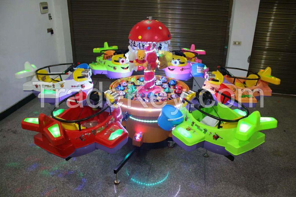 Rotary Helicopter Children's Amusement Equipment