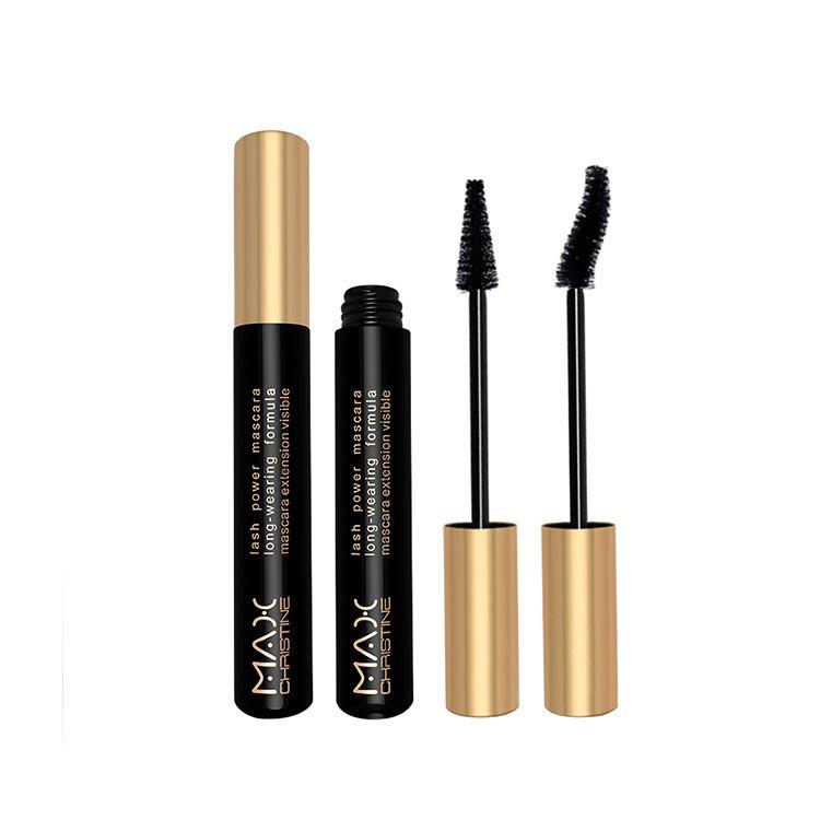 Wholesale custom eyelash extension OEM vegan lengthening waterproof natural organic black private label 3d fiber lash mascara