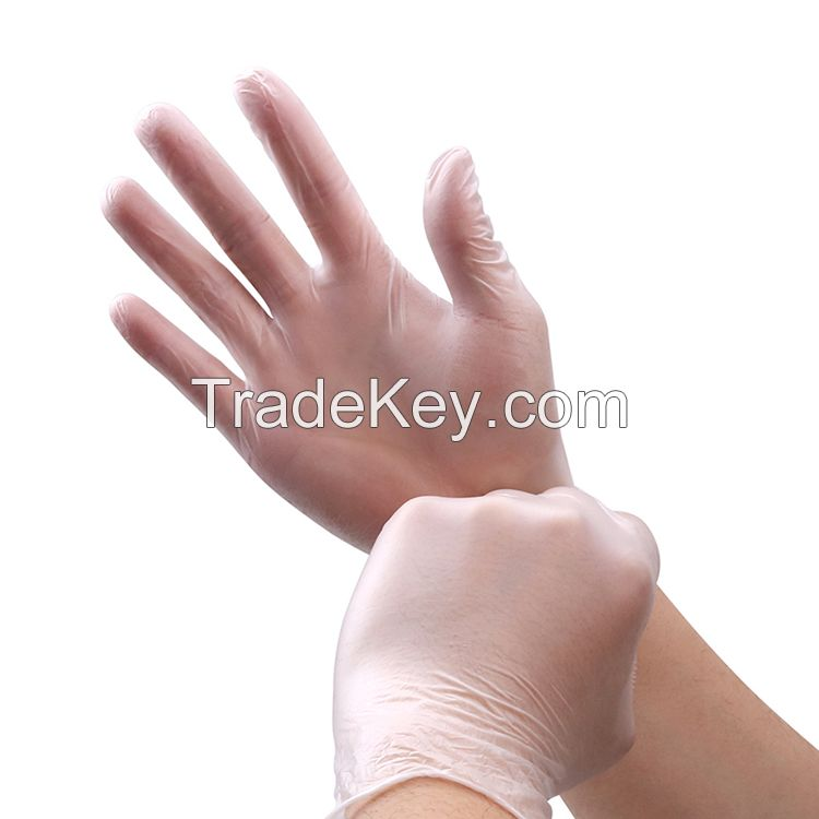 Disposable PVC Gloves powder free vinyl gloves with smooth touch