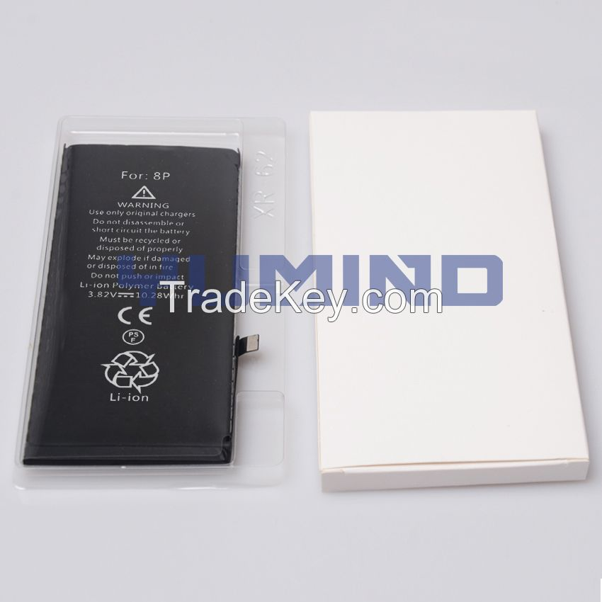 Brand new 0 cycle Lithium-ion Pure Cobalt Replacement Battery For iPhone 8 Plus
