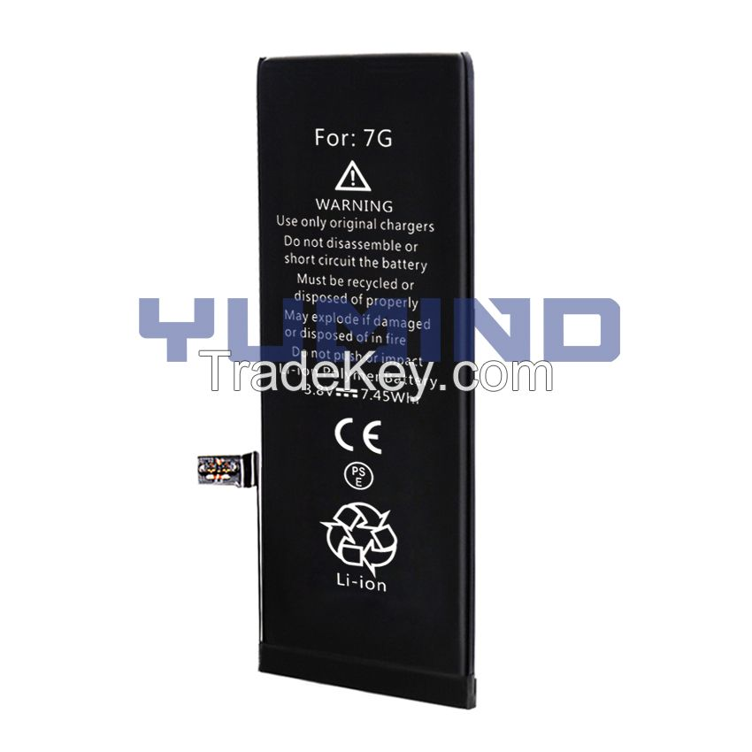 Wholesale Brand new Pure Cobalt Lithium-ion Replacement Battery For iPhone 7G