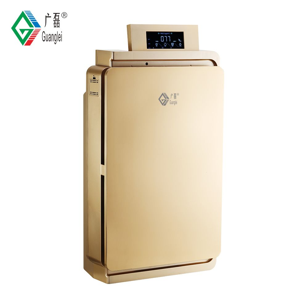 Commercial HEPA negative ion active carbon home air purifier