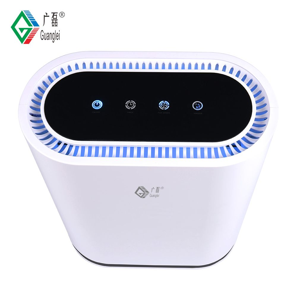 360 degree ionizer HEPA home air purifier
