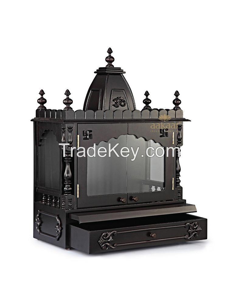Pooja Mandir with Glass Doors - 21 VC