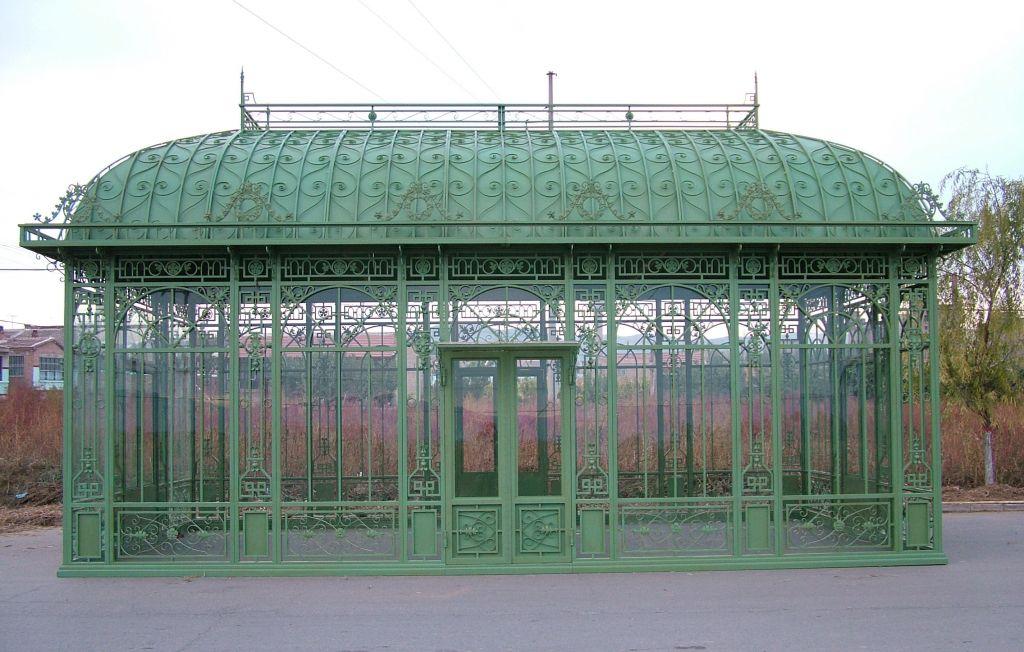 Galvanized Iron garden greenhouse