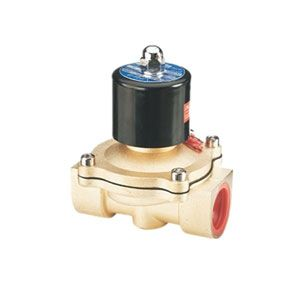 2/2-Way Water/Air/Oil Solenoid Valve, 12V/24V DC, Normally Closed