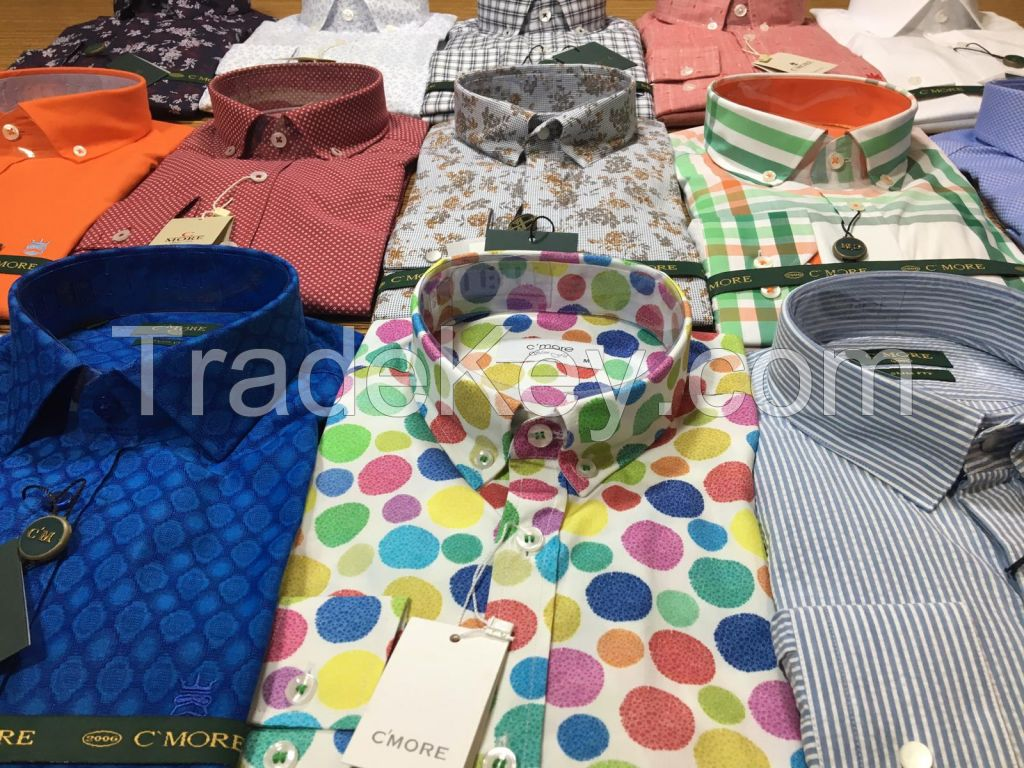 Men's Shirt 100% cotton High Quality, made in Turkey