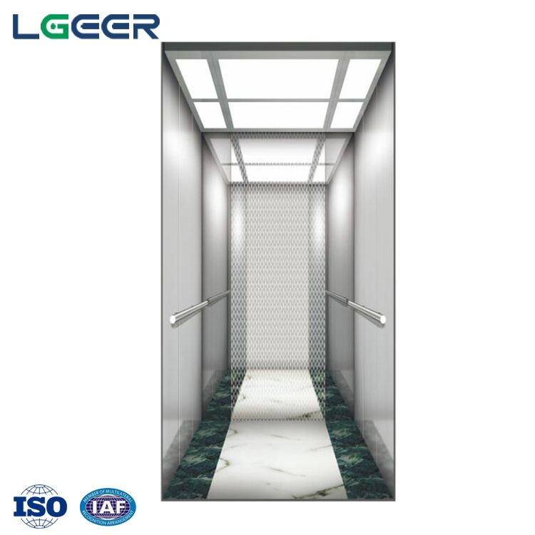 Stainless Steel Home Elevator Elevator Lifts Low Noise House Lift with