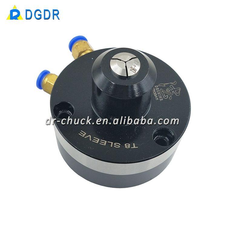 chuck mini JAS-T8, finger feed mini chuck, DGDR tapping machine small work piece chuck