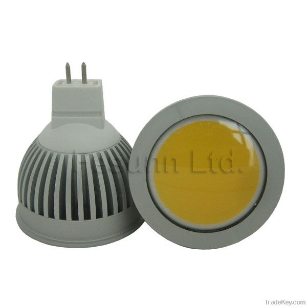 3W LED COB Spotlight with FCC Approval and 3 years warranty