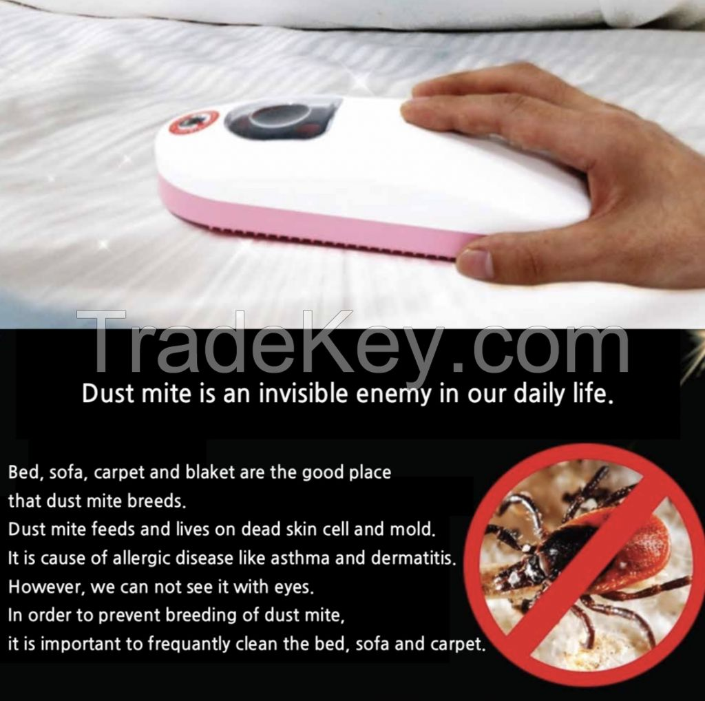 Dust mite cleaner (horse hair brush)