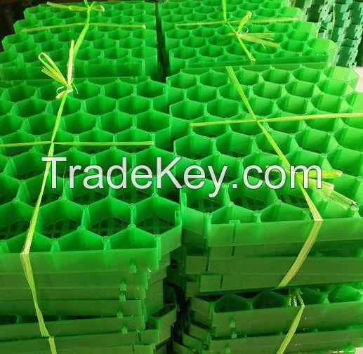 plastic grass grid grass paver for parking