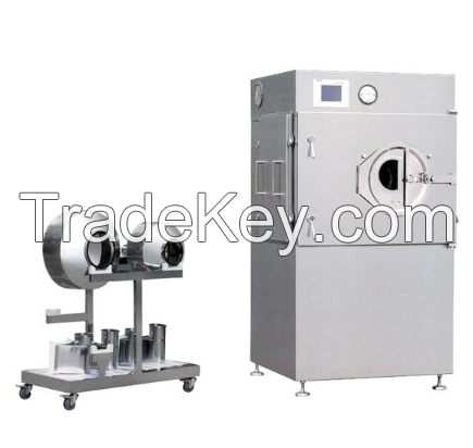 AUTOMATIC FILM COATING MACHINE FOR TABLET PILL AND CHEWING GUM