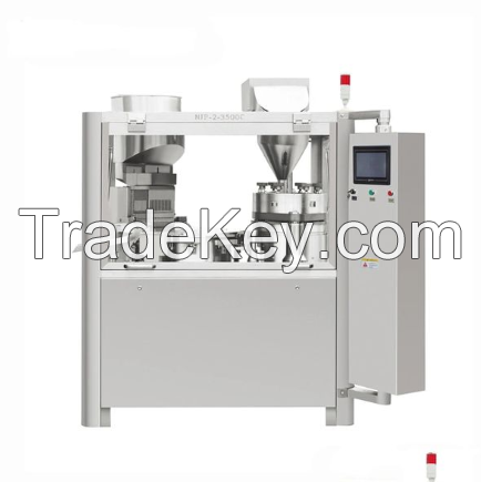 SNJP-AUTOMATIC LIQUID/POWDER CAPSULE FILLING MACHINE