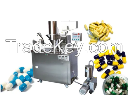 Semi-Automatic Capsule Filling Machine (Size 00-5- Makes 25000 Capsules/Hours)
