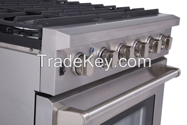 30inch Thorkitchen Duel Fuel Gas Range/Gas Stove with  4 burners