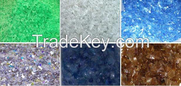 Virgin PET granules iv 0.8 chips /Recycled plastic scrap flakes/ Bottle grade PET