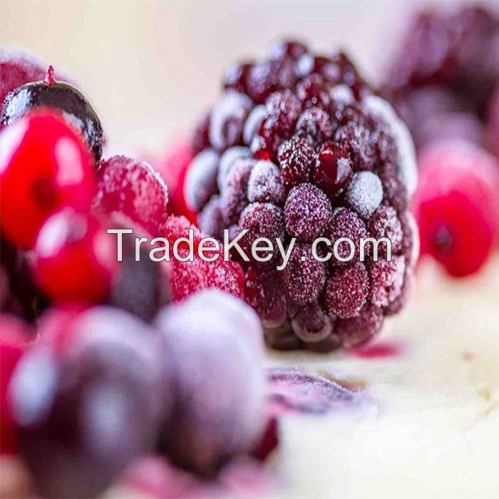 Ukrainian High Quality Natural Organic Frozen Fruits