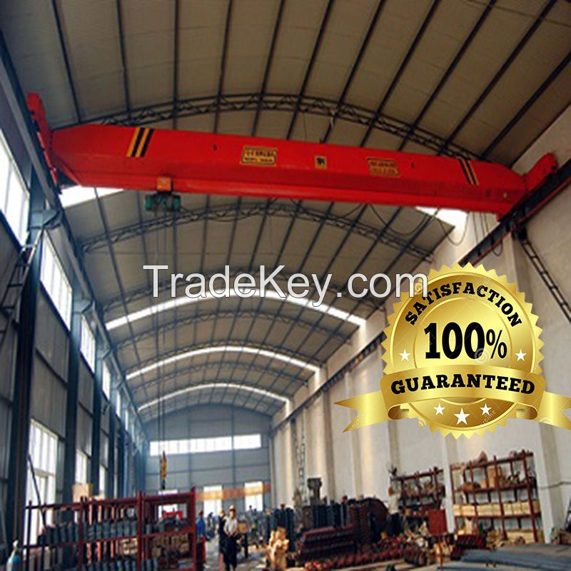 LDA single girder overhead crane1t-32t power supply 380v bridge crane