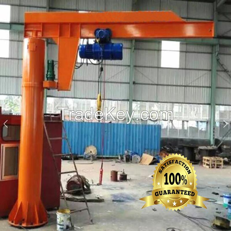 BZD floor mounted 5t cantilever crane power supply 380v jib crane