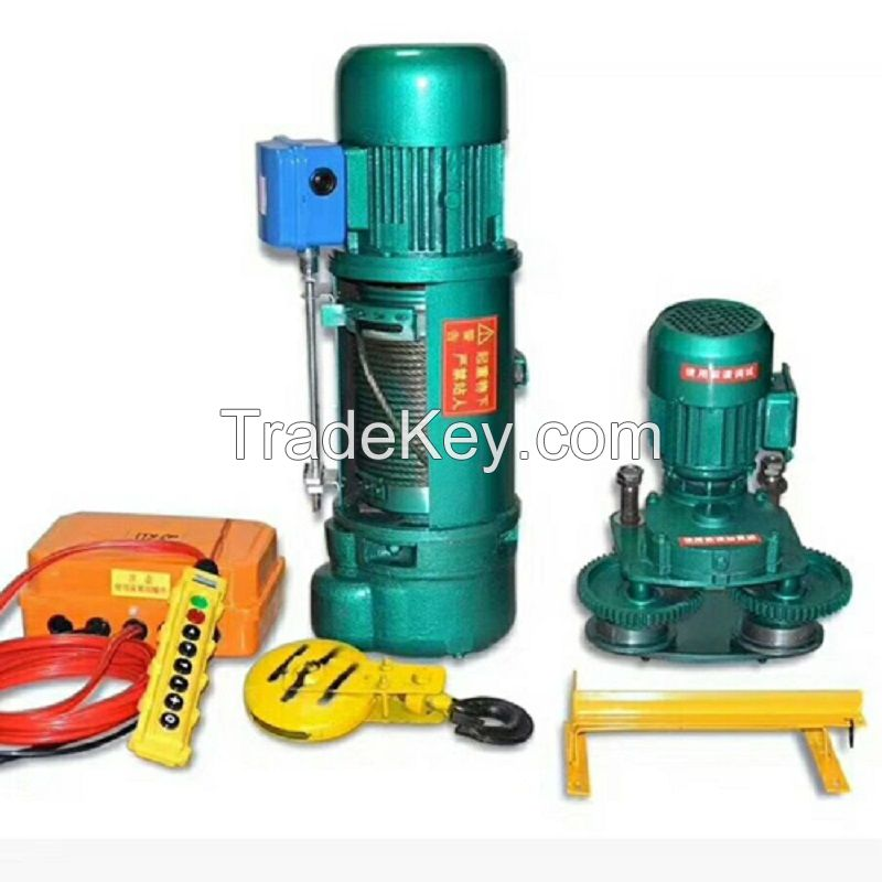 16t pendant control steel wire rope electric hoist