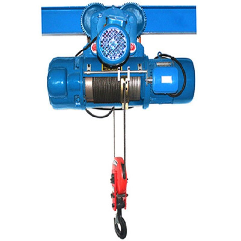 1t electric hoist lifting height 6m power supply 220v double speed steel wire rope electric hoist