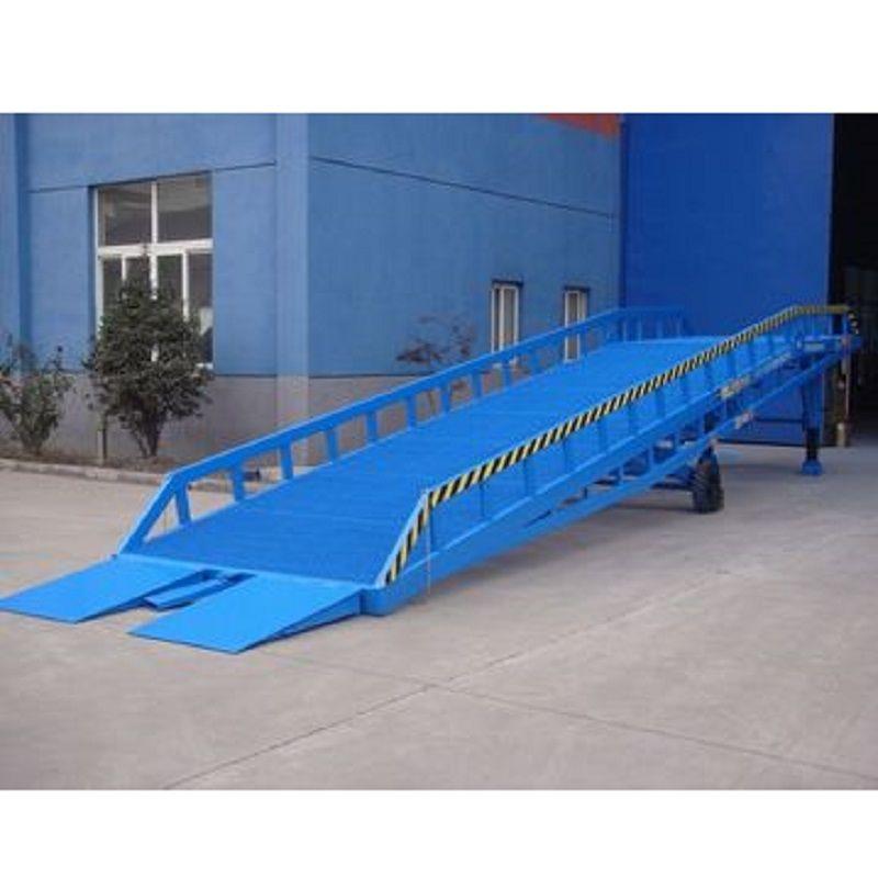 Stationary loading ramp