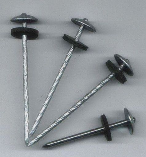 Roofing Nail(with rubbe)