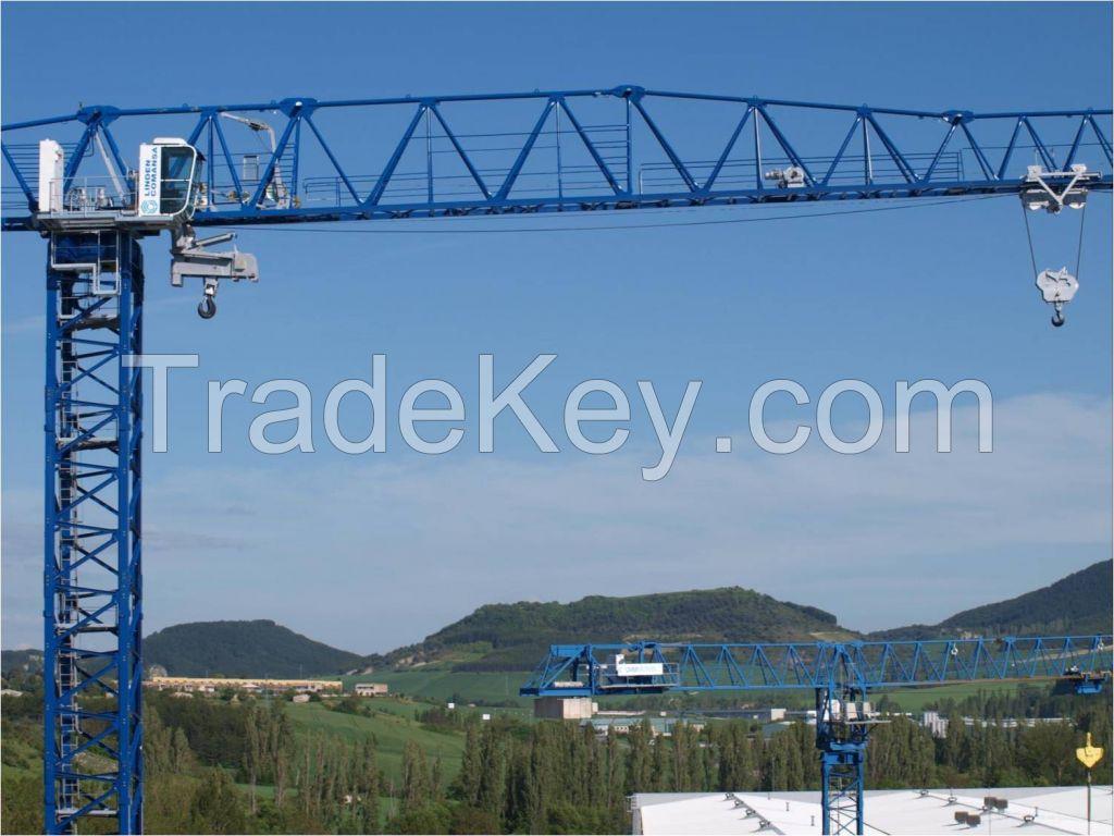 Flat top tower crane 21CM450-20t