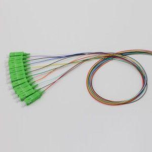 SC APC 12 Color Pigtail