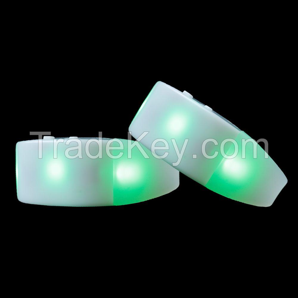 Light Up Bracelets Wholesale Illuminated Wristbands Remote Control Flashing Wristbands Glow Party