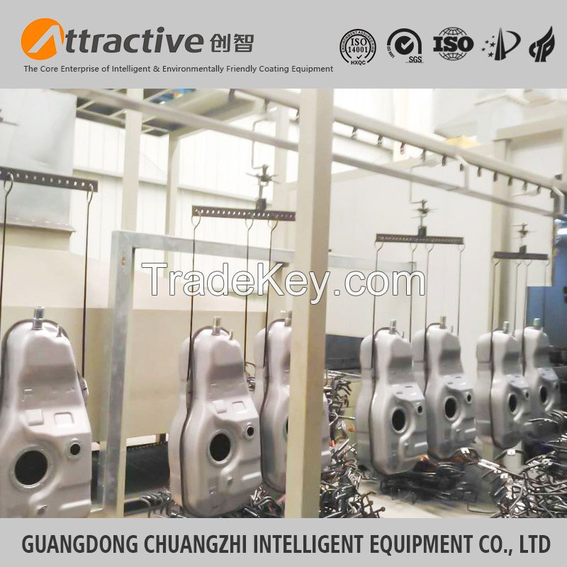 Guangdong Chuangzhi attractive auto parts painting line