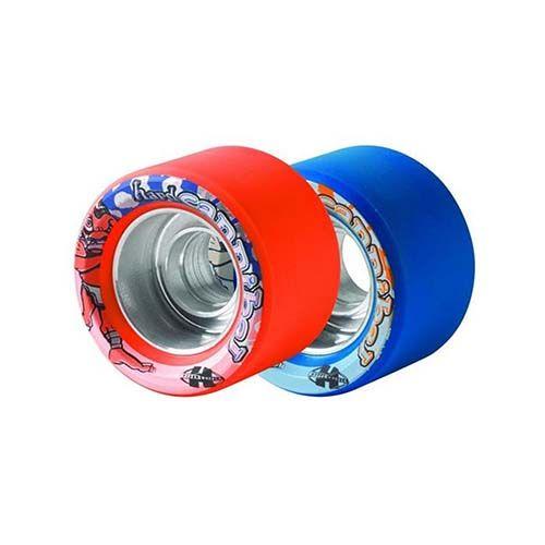 Hyper Cannibal Soft Or Firm Speed Roller Skate Wheels Set Of 8